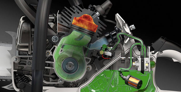 Its engine is igniting a new era with injection technology.